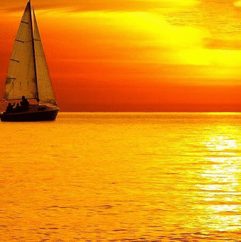 Sailing or traveling in the ocean dream meaning